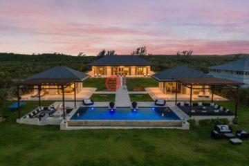 居外网在售巴哈马4卧5卫的房产总占地5263平方米USD 12,000,000
