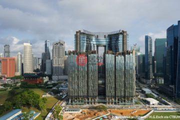 中星加坡房产房价_新加坡房产房价_居外网在售新加坡1卧1卫新开发的房产总占地26200平方米SGD 1,760,000
