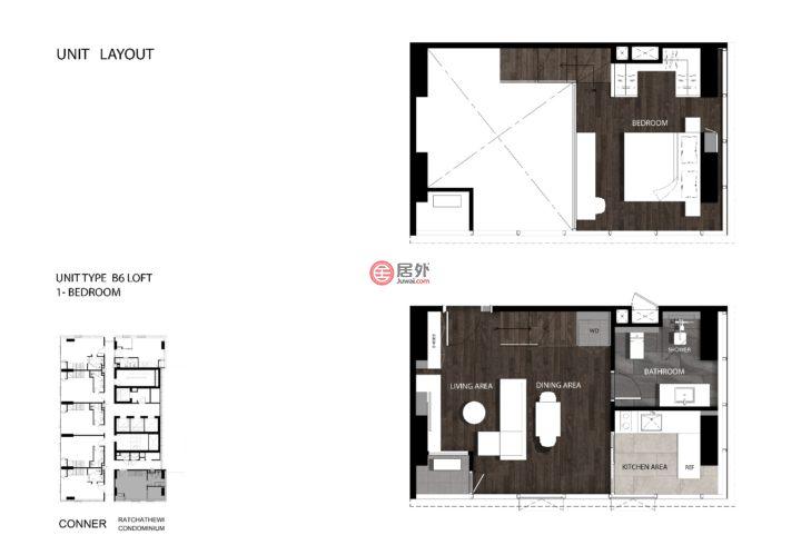 泰国曼谷的新建房产,320, Thanon Phetchaburi, Khet Ratchathewi, Krung Thep Maha Nakhon,编号40084953