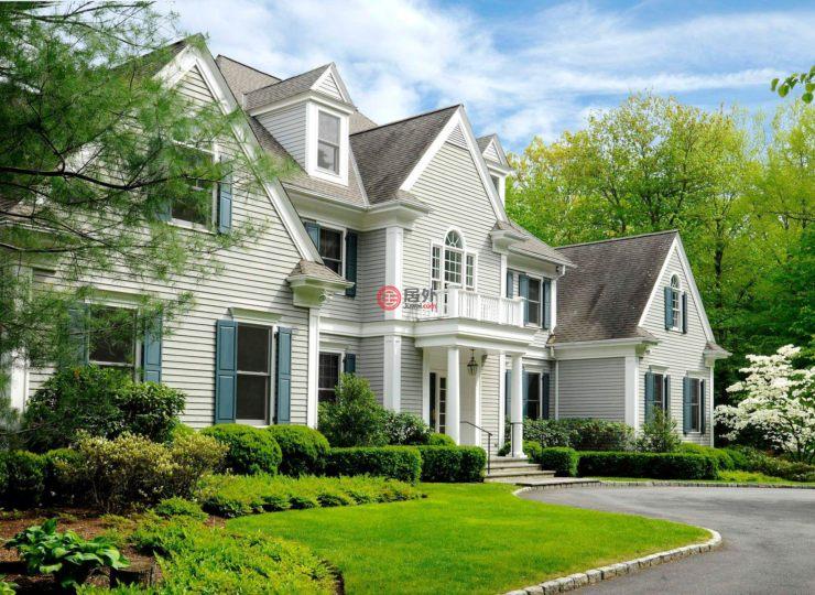 美国康涅狄格格林威治6卧8卫的绿地上海市城21房产区门牌d别墅图片