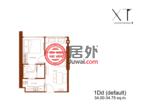 泰国Bangkok曼谷的房产,泰国曼谷XT辉煌,曼谷唐人街地标性豪宅,75米直达地铁站,编号54109009