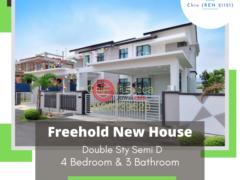 居外网在售马来西亚4卧3卫的联排别墅总占地342平方米MYR 538,000