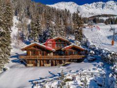 居外网在售瑞士Verbier6卧5卫的房产总占地570平方米