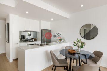 居外网在售澳大利亚2卧2卫新房的房产总占地107平方米AUD 848,000