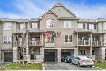 居外网在售加拿大奥克维尔2卧3卫的房产总占地127平方米CAD 599,900