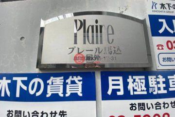 居外网在售日本1卧1卫原装保留的房产总占地31平方米JPY 13,800,000