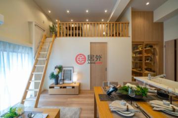 居外网在售日本2卧1卫曾经整修过的房产总占地64平方米JPY 46,800,000