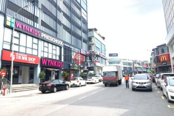居外网在售马来西亚梳邦再也MYR 11,500 / 月总占地190平方米的商业地产