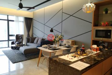 居外网在售马来西亚3卧3卫最近整修过的房产总占地117平方米MYR 3,074,000
