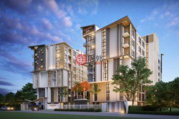 居外网在售泰国1卧1卫新开发的房产总占地31平方米THB 2,945,000