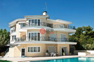 居外网在售希腊6卧4卫新房的房产总占地6500平方米EUR 3,800,000