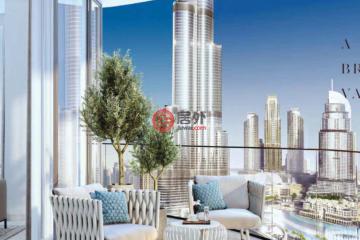居外网在售阿联酋2卧2卫新房的房产总占地10平方米AED 4,078,888