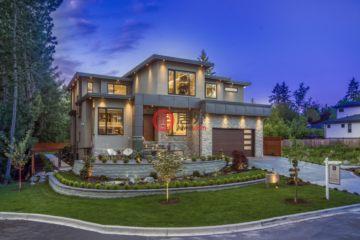 加拿大房产房价_不列颠哥伦比亚省房产房价_萨里房产房价_居外网在售加拿大萨里6卧8卫的房产总占地1301平方米CAD 4,488,888