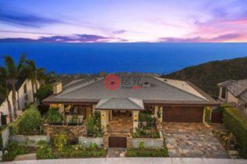 居外网在售美国4卧5卫最近整修过的房产总占地14104平方米USD 4,500,000
