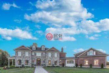 居外网在售加拿大4卧4卫特别设计建筑的房产总占地40469平方米CAD 2,098,000
