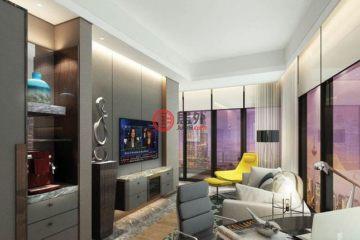 居外网在售马来西亚吉隆坡1卧1卫的房产总占地65平方米MYR 1,240,000
