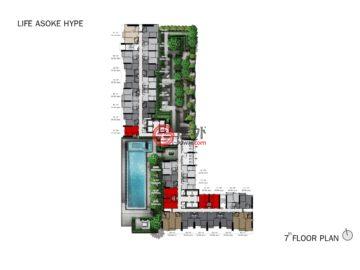 泰国Bangkok的新建房产,Asoke-Dindang Road,编号49518729