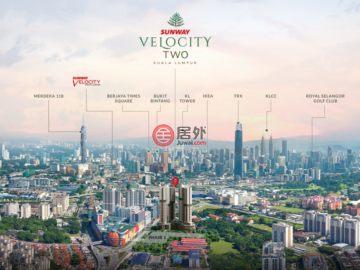 居外网在售马来西亚3卧2卫新开发的新建房产总占地85平方米MYR 1,000,000起