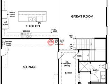 美国加州California的新建房产,147.5 Ceremony Irvine,编号35094290