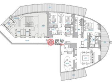 摩纳哥摩納哥城的房产,编号37779422