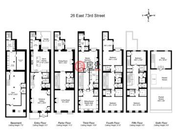 美国纽约州纽约的房产,26 East 73rd St,编号49799742