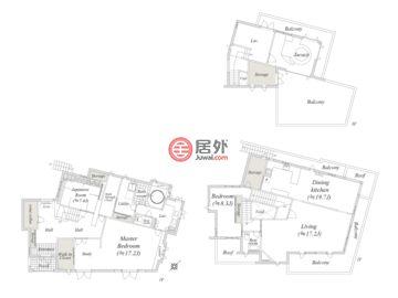 日本神奈川小田原市的房产,编号35554288