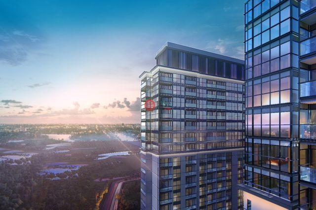 迪拜的新建房产