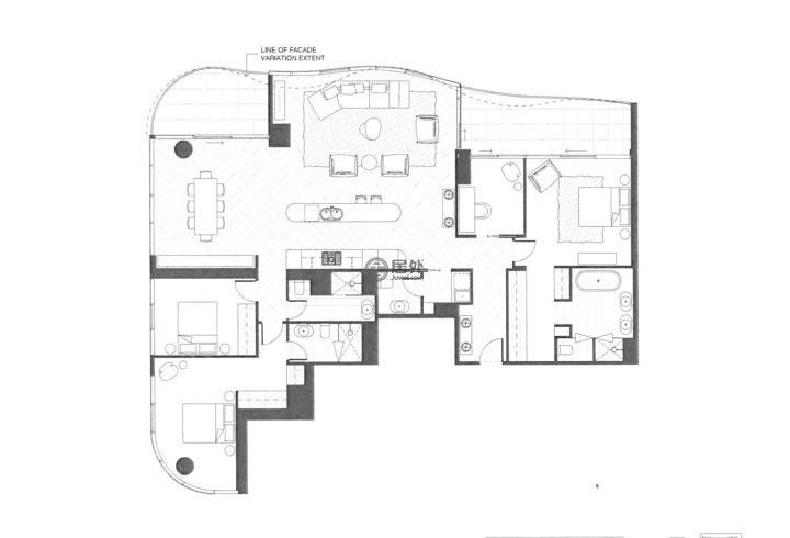 澳大利亚维多利亚州墨尔本的房产,编号48427792