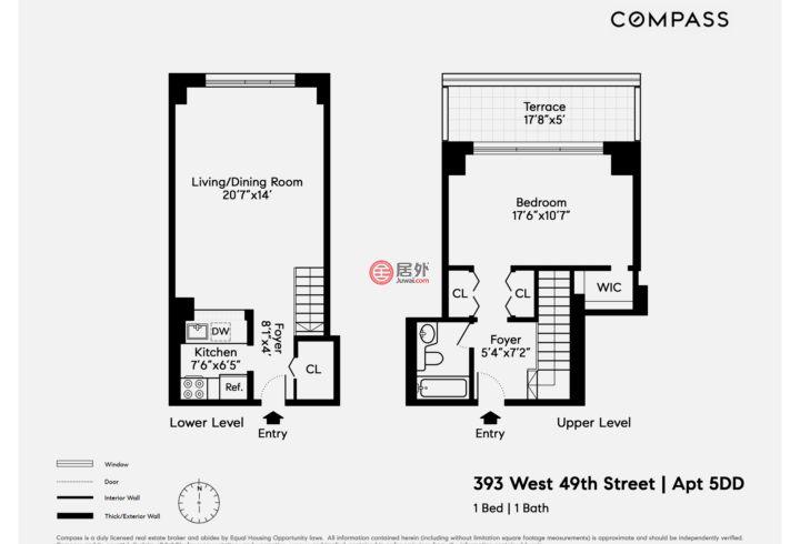 美国纽约州纽约的房产,West 49th Street,编号51162988