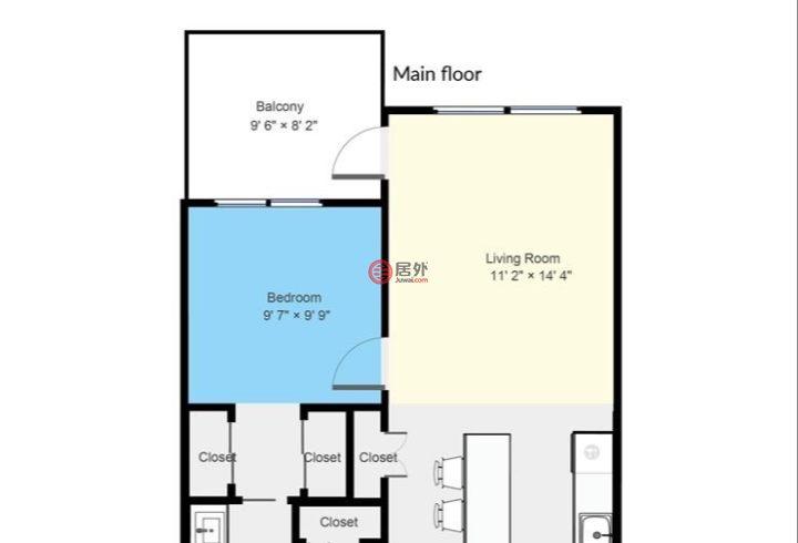 加拿大不列颠哥伦比亚省高贵林港的公寓,211 2382 Atkins Avenue,编号59158669