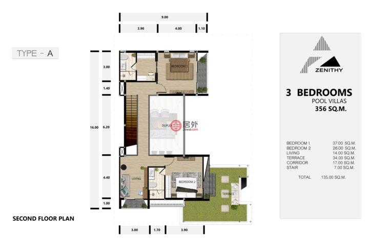 泰国普吉府普吉的房产,Chengtalay,编号51421573