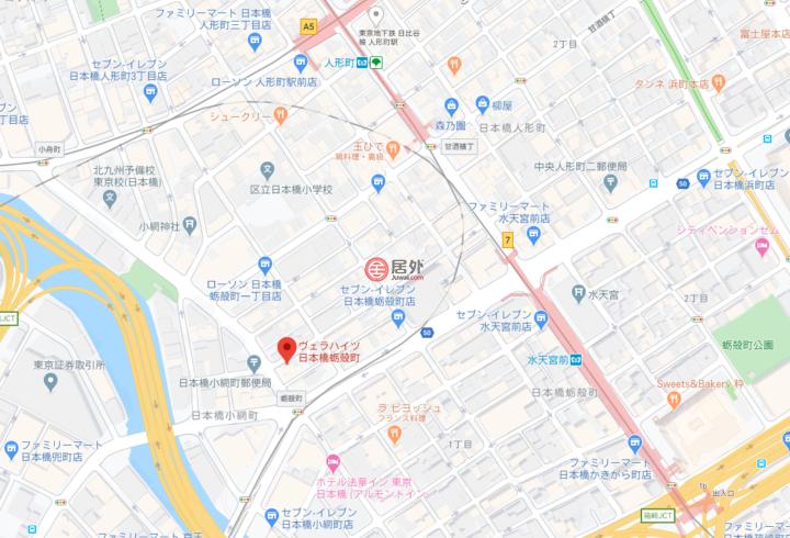 日本JapanTokyo的房产,日本橋蛎殻町,编号53443765