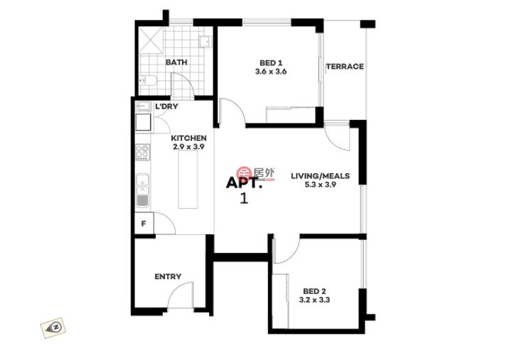 澳大利亚南澳大利亚的房产,51-53 East Pkwy,编号47625031