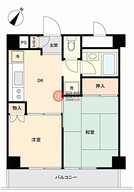 日本JapanTokyo的房产,新宿6-27-10,编号56339220