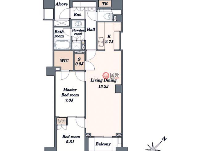 日本JapanTokyo的房产,2-20-7 Ebisunishi,编号58459684