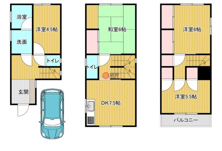 日本大阪府大阪市的房产,西成区花園南1丁目,编号56018284