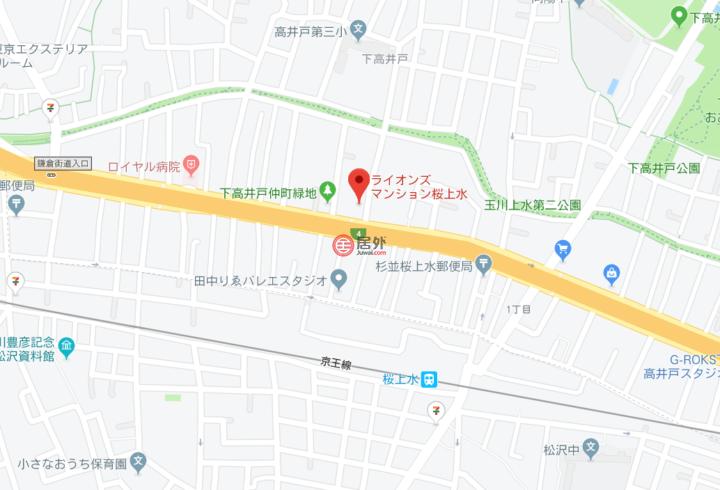 日本東京都Tokyo的房产,東京都杉並区下高井戸四丁目1-1,编号49711491