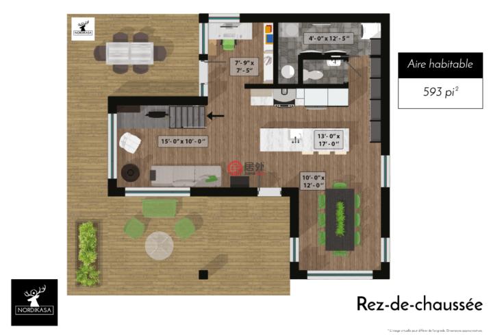 加拿大魁北克L'ange-gardien的房产,De la Topaze,编号48919917