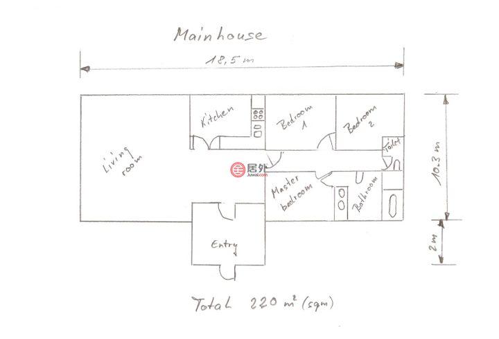 泰国佛丕府七岩的房产,8/1 soi 9, Banchaam street 1,编号54957800