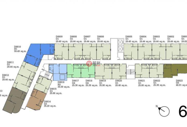 泰国春武里府芭堤雅的房产,编号48735538
