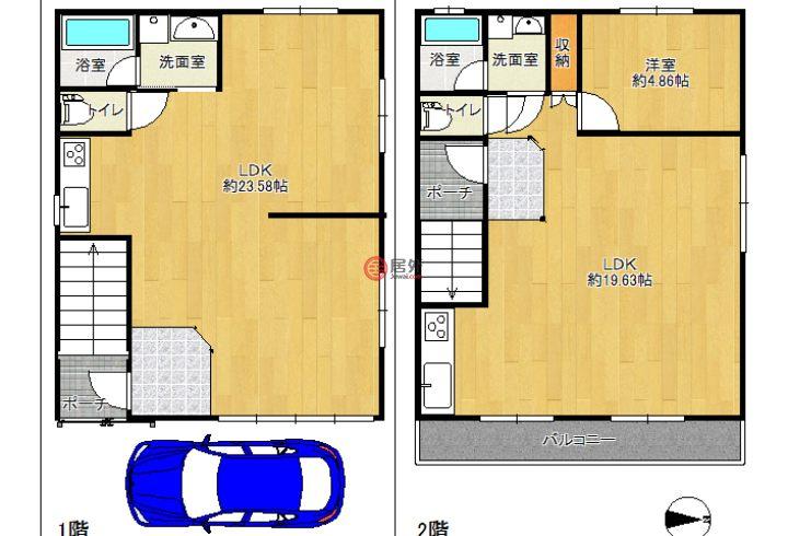 日本大阪府大阪市的房产,西成区聖天下1丁目,编号56041421