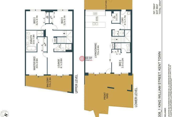澳大利亚南澳大利亚阿德莱德的房产,1 King William Street, SA 5067,编号46544777