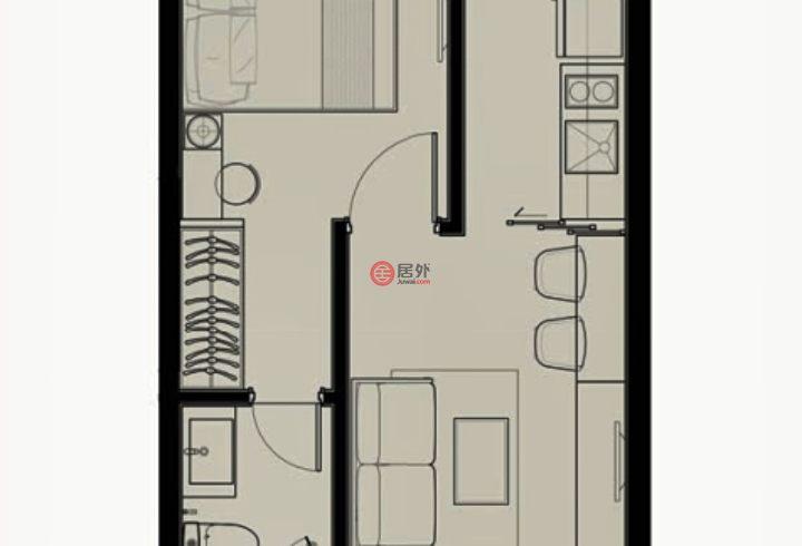 泰国曼谷的房产,ekkamai,编号44225957