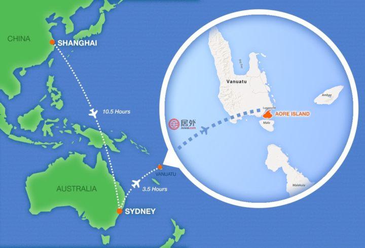 瓦努阿图桑马卢甘维尔的土地,Coconut Drive ,编号54981582