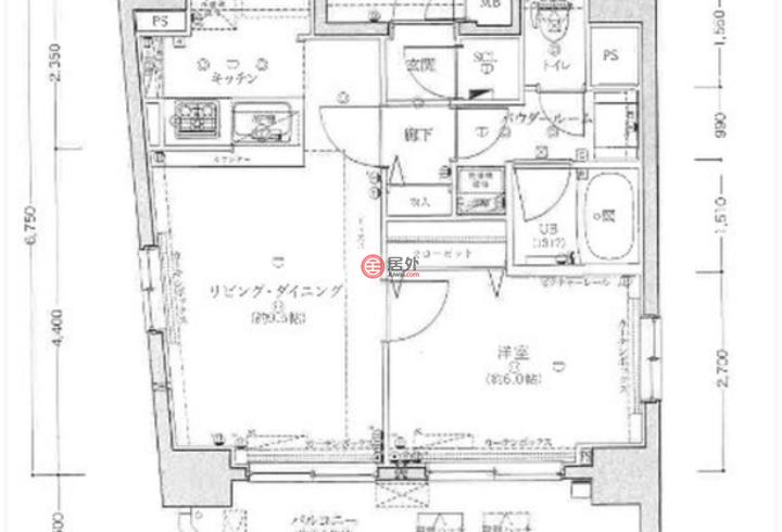 日本Tokyo Prefecture东京的房产,2 Chome-8-7,编号41359273