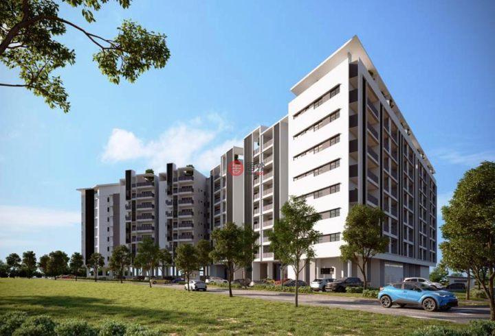 马来西亚沙捞越科达萨马拉安的公寓,编号59382518