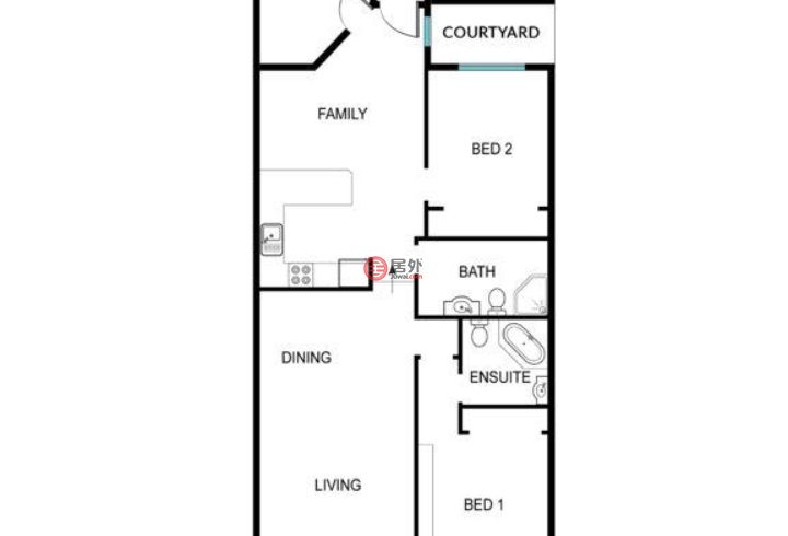 澳大利亚澳大利亚首都领地Florey的房产,105/15 John Cleland Crescent,编号53271802