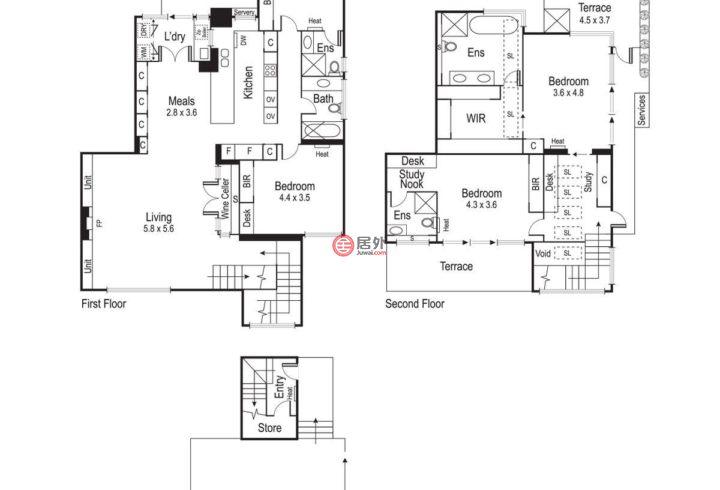 澳大利亚维多利亚州Toorak的房产,276B Williams Road,编号51113090